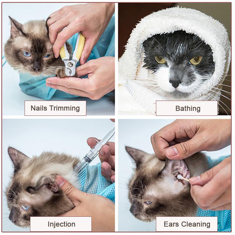 cat bath bag uses