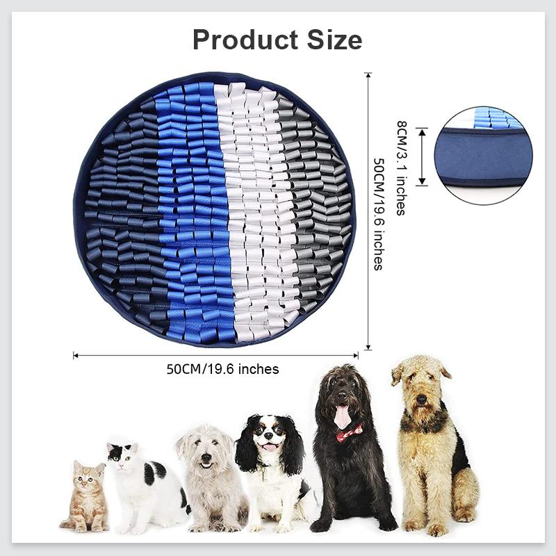 dog snuffle mat size
