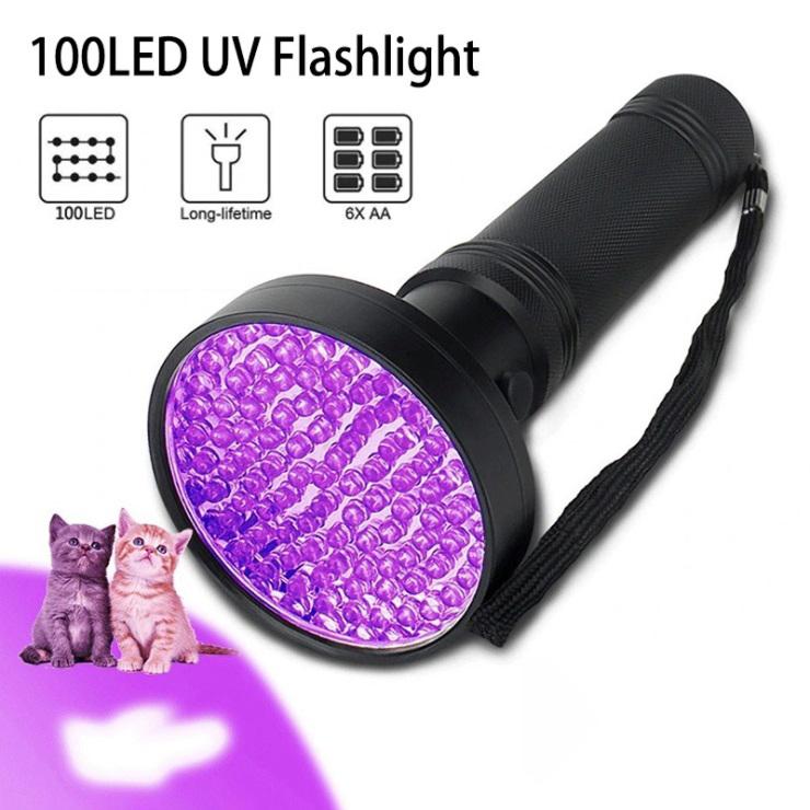 100led uv flashlight
