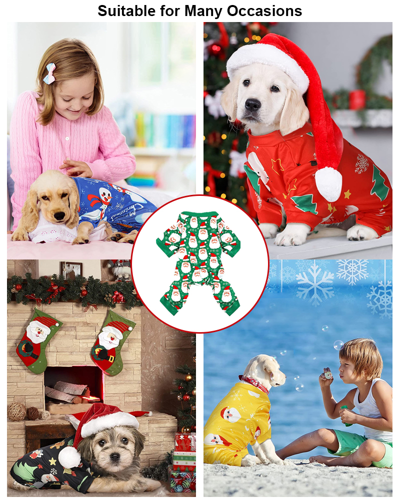 suitable for many scenes dog pajamas