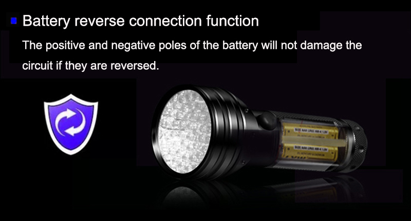 battery reverse connection