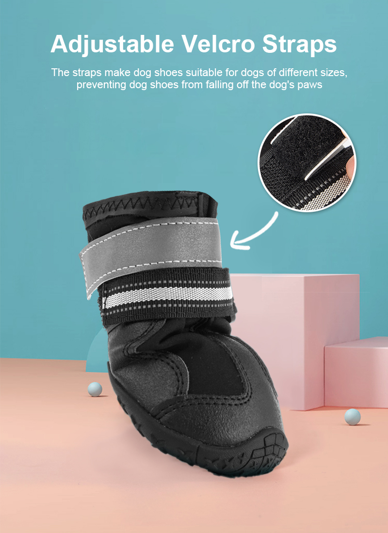 breathable dog shoes details 3