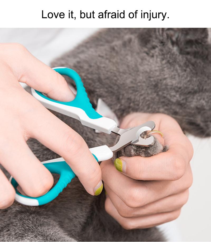 cat nail clipper use