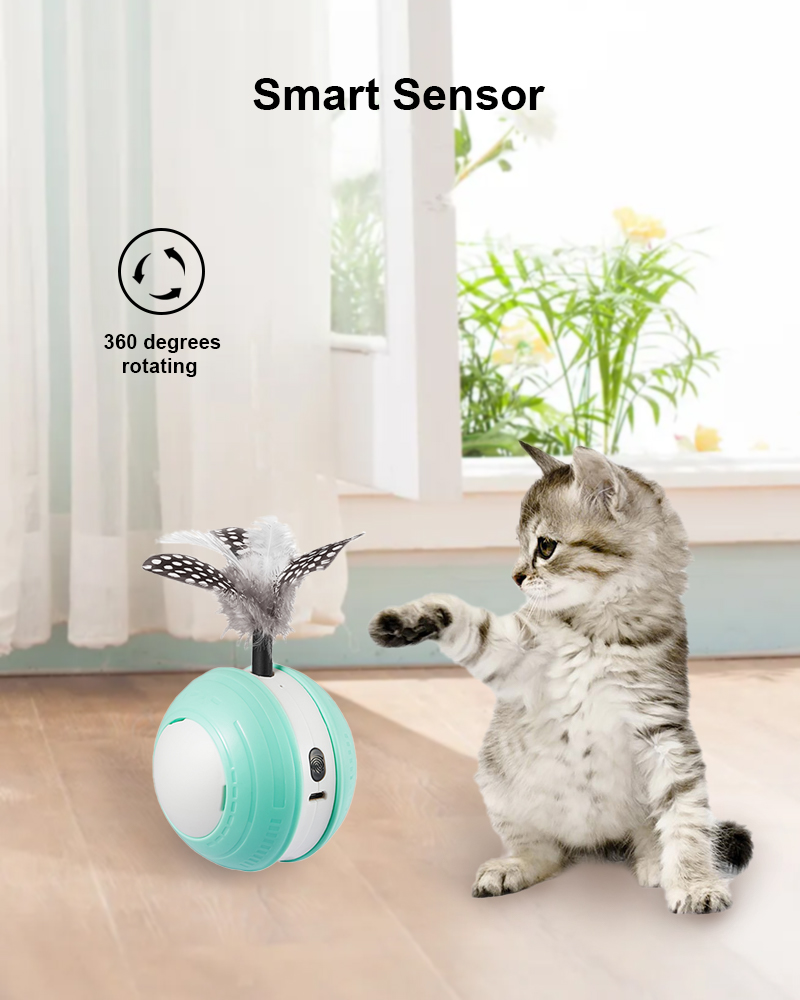 cat toy ball details 2
