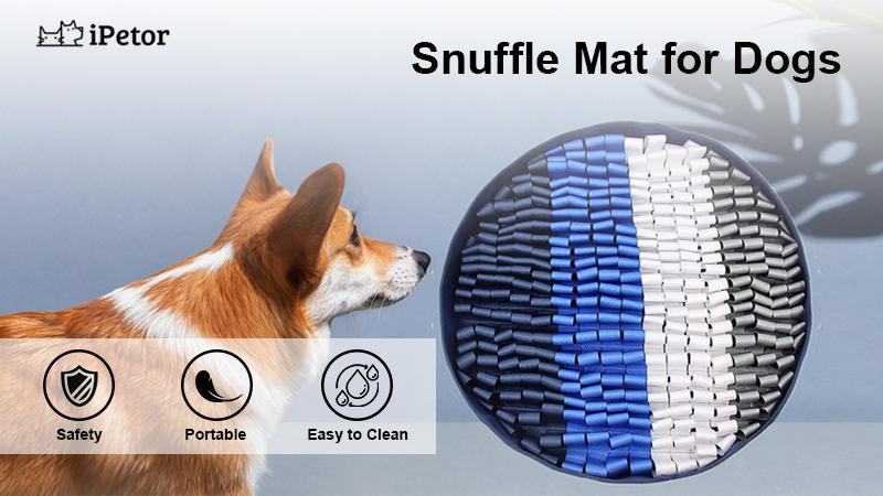 dog snuffle mat banner