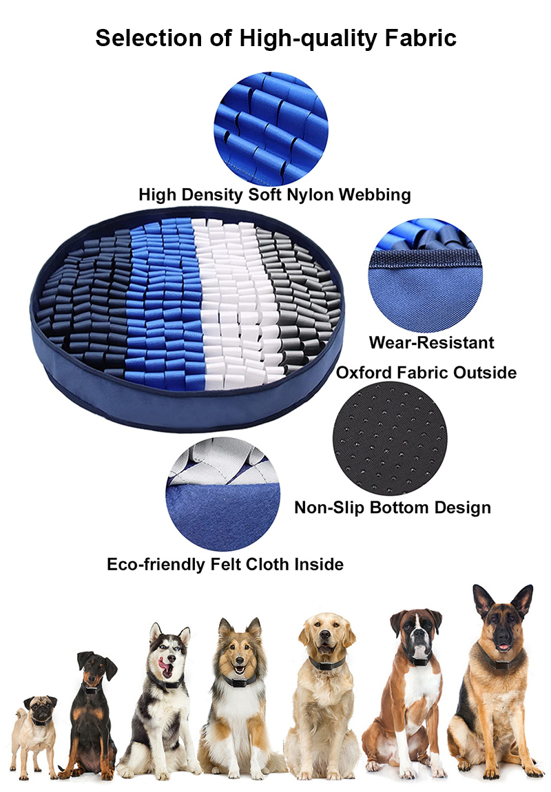 high quality fabric snuffle mat