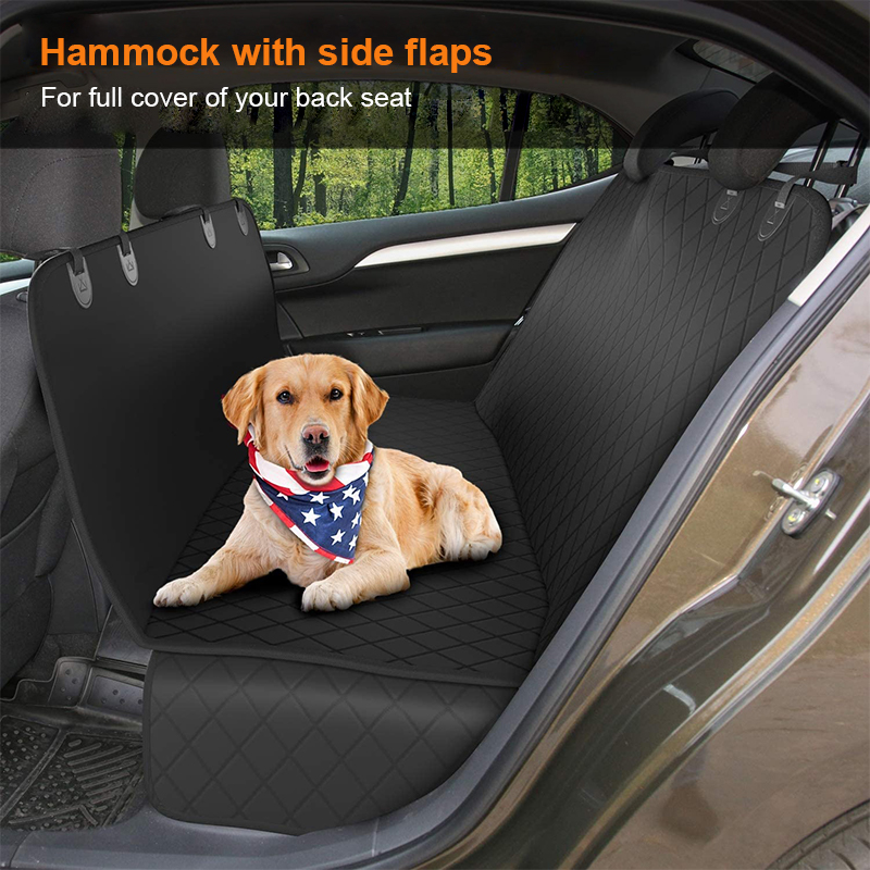 dogs can lie down on the seat cover easily