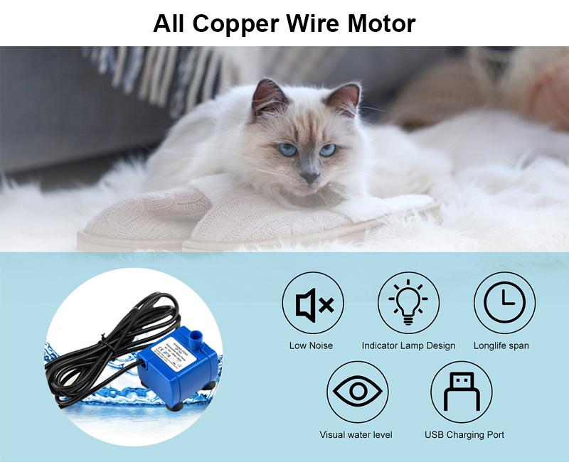 All copper wire motor