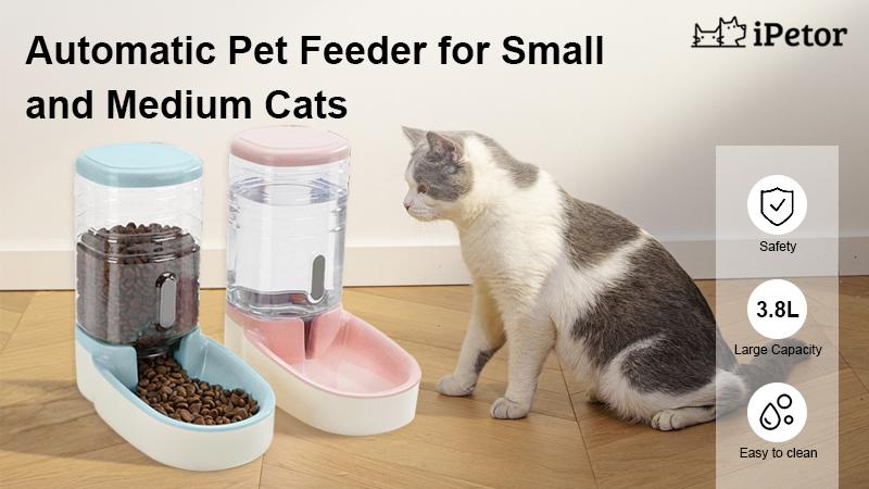 pet feeder set banner