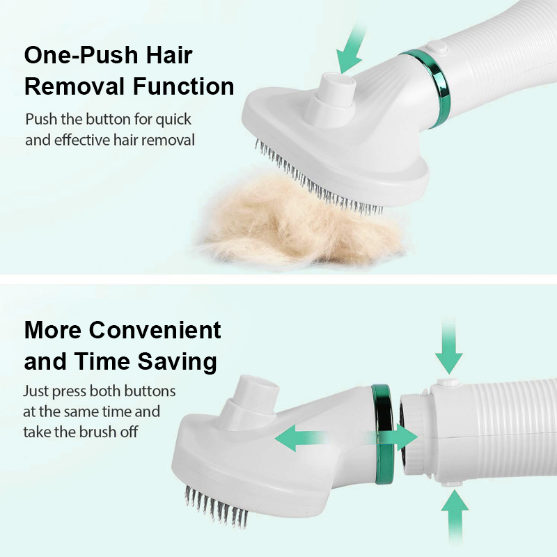 one click hair removal function