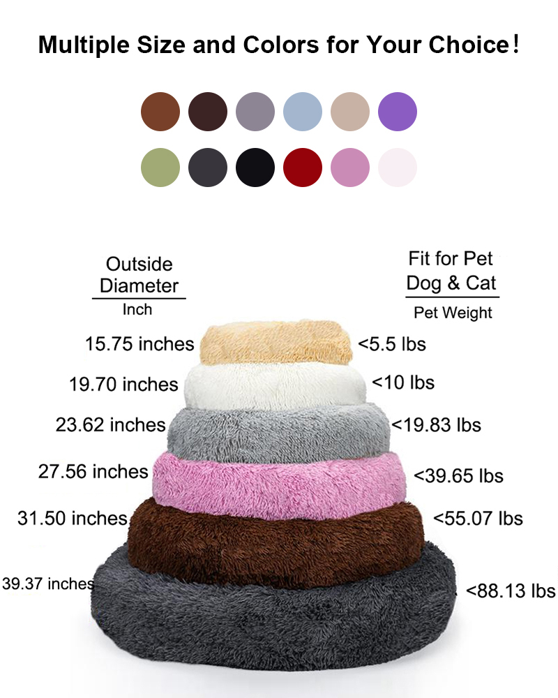 dog bed size