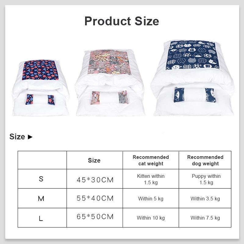 pet sleeping bag details 15