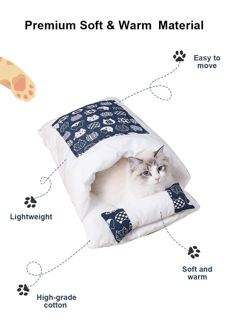 pet sleeping bag details 3