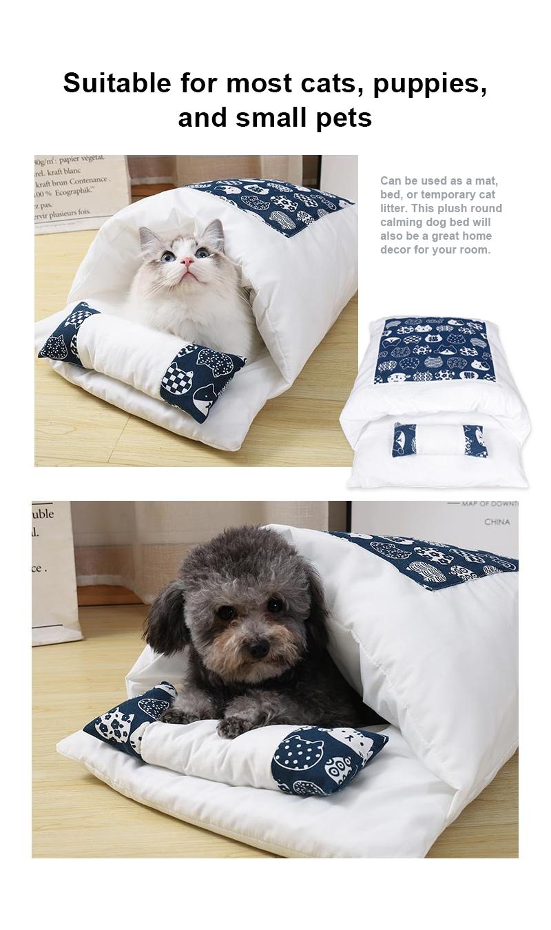 pet sleeping bag details 4