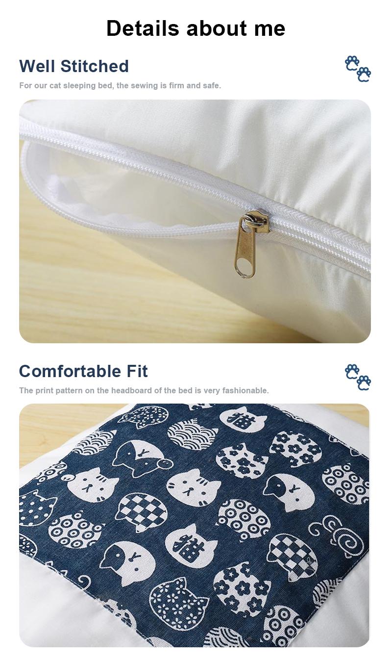 pet sleeping bag details 5