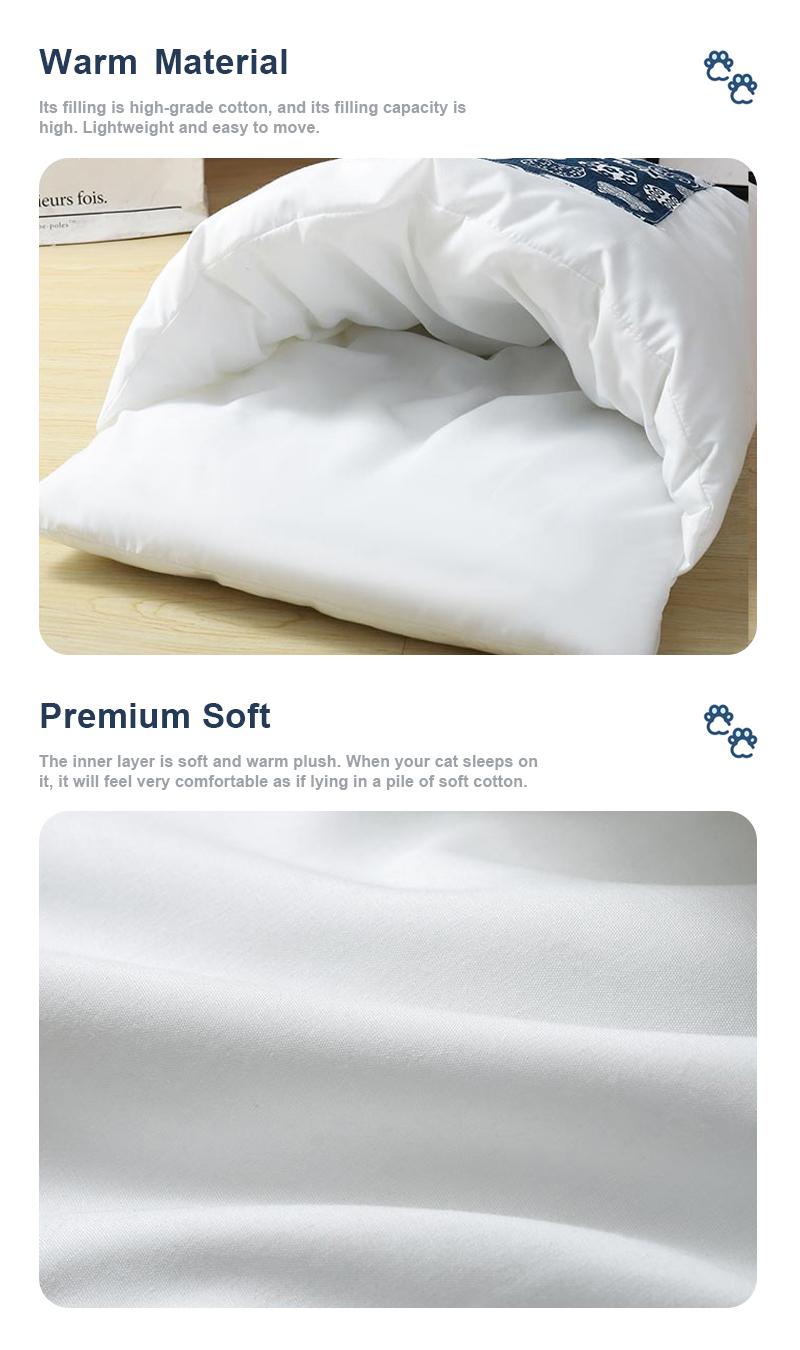 pet sleeping bag details 6