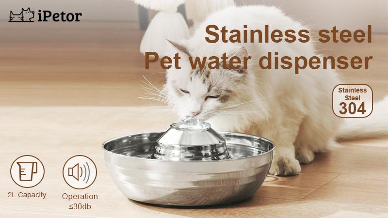 best stainless steel pet water dispenser