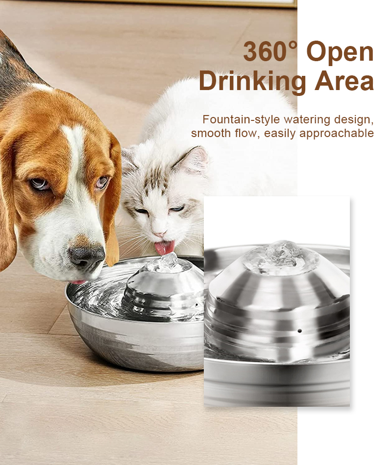 360 design pet water dispenser