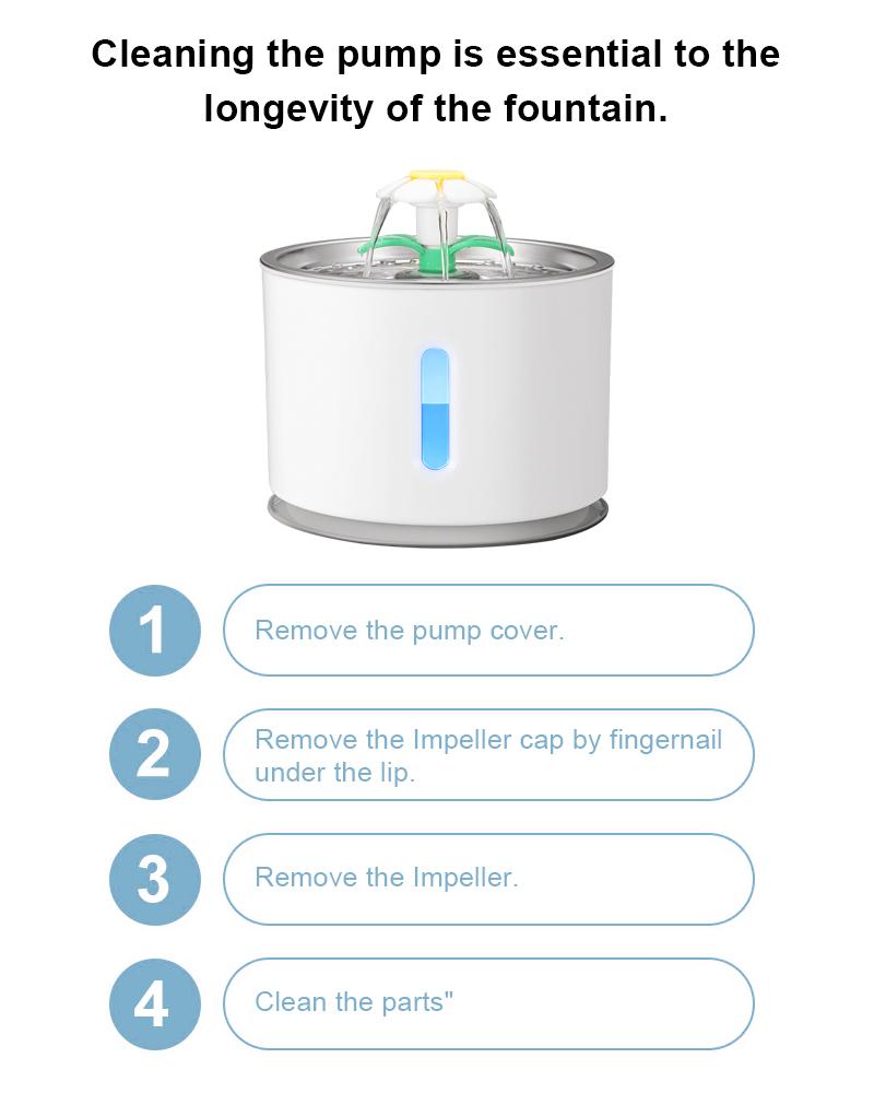 pet water dispenser details 8