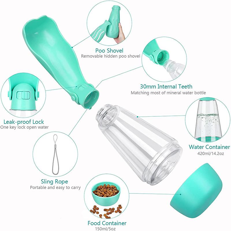 water bottle details