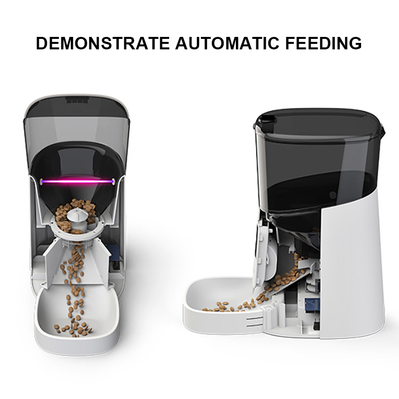 demomstrate automatic feeding